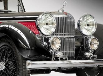 Reborn Alvis to be on display at London Classic Car Show