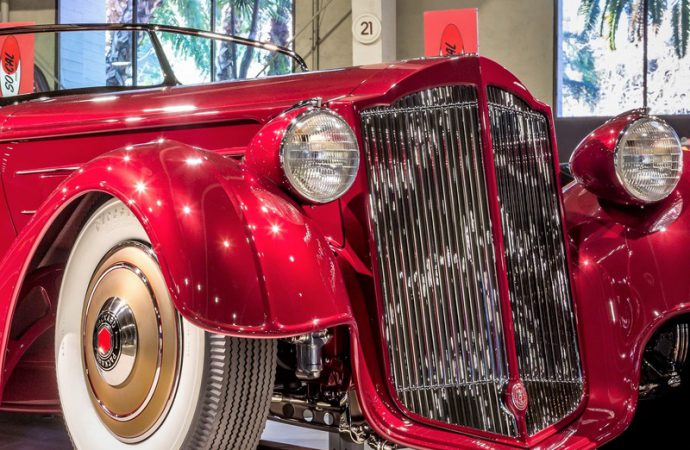 Custom '36 Packard is America's Most Beautiful Roadster
