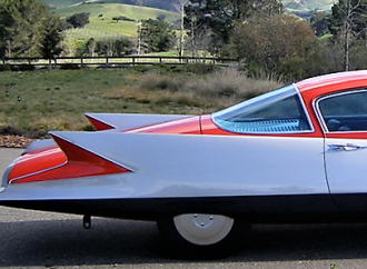 Gilda, a sublime 1955 turbine car, offered at Barrett-Jackson