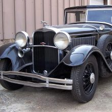 1931 Lincoln Model K Custom Berline