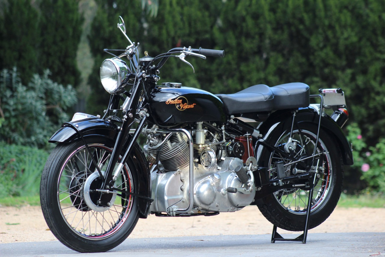The 1949 Indian-Vincent is the only one of its kind