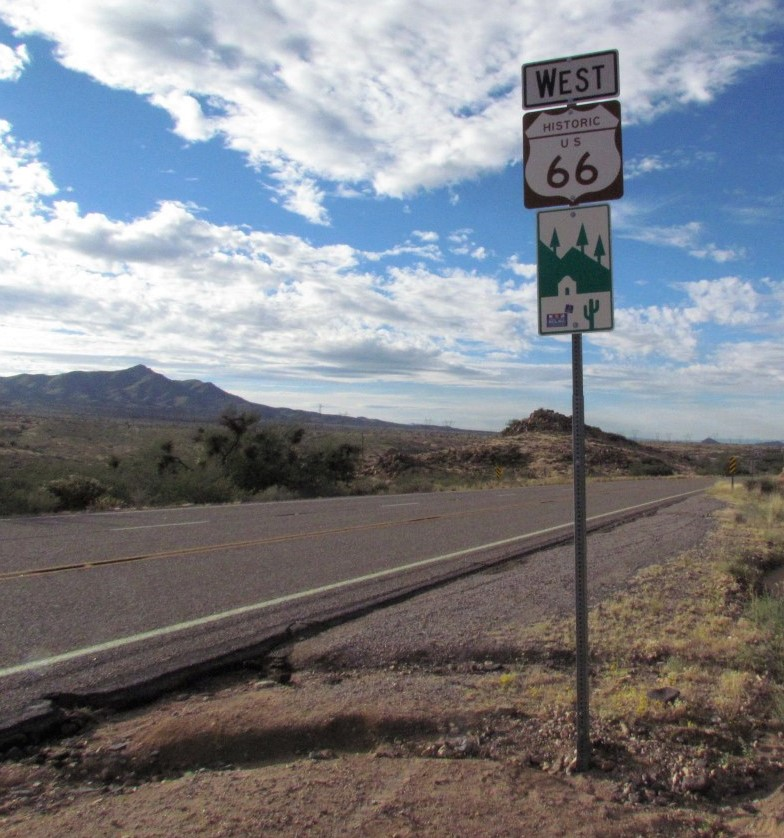 Arizona's Route 66 passes through beautiful open country | Larry Edsall