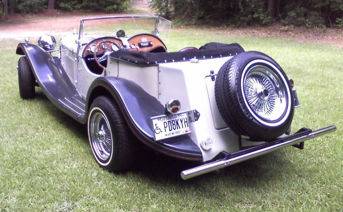My Classic Car: Roddy\'s 1937 Jaguar replica - ClassicCars.com Journal