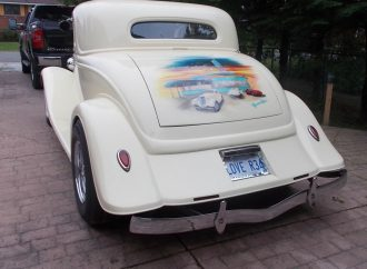 My Classic Car: Deborah's 1934 Ford 3-window coupe