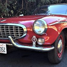 1963 Volvo P1800S sports coupe