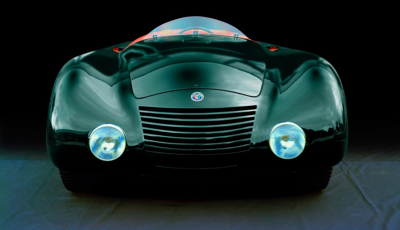 1938 Alfa 7C Aeodinamica put driver in the middle