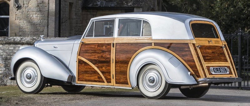 1949 Bentley MKVI Countryman Woodie among 66 cars to be featured on The Grand Avenue | Classic show photos