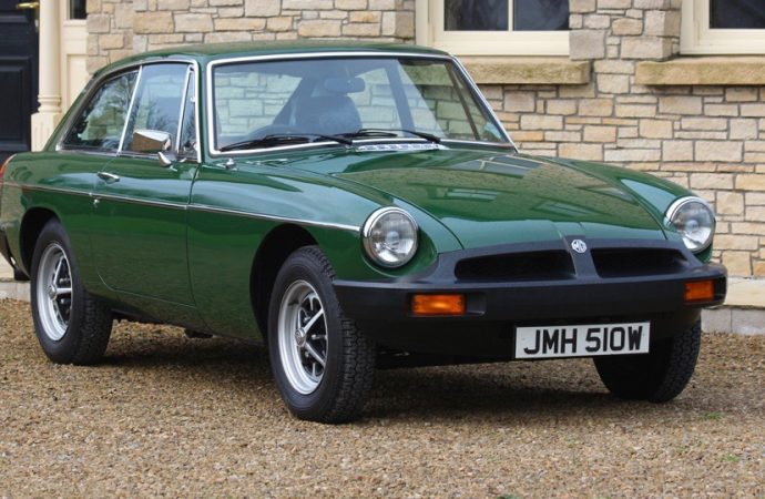 Pristine, 1,500-mile 1980 MGB-GT going to auction