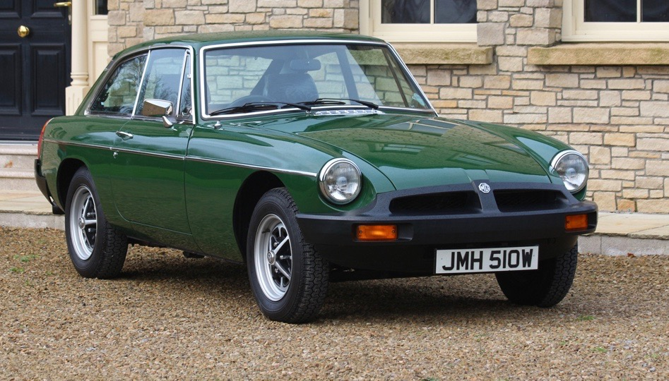 Pristine, 1,500-mile 1980 MGB-GT going to auction - ClassicCars ...
