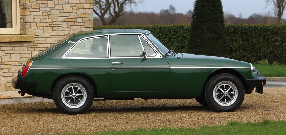1980 MGB-GT going to auction with only 1,500 miles on its odometer | CCA photos