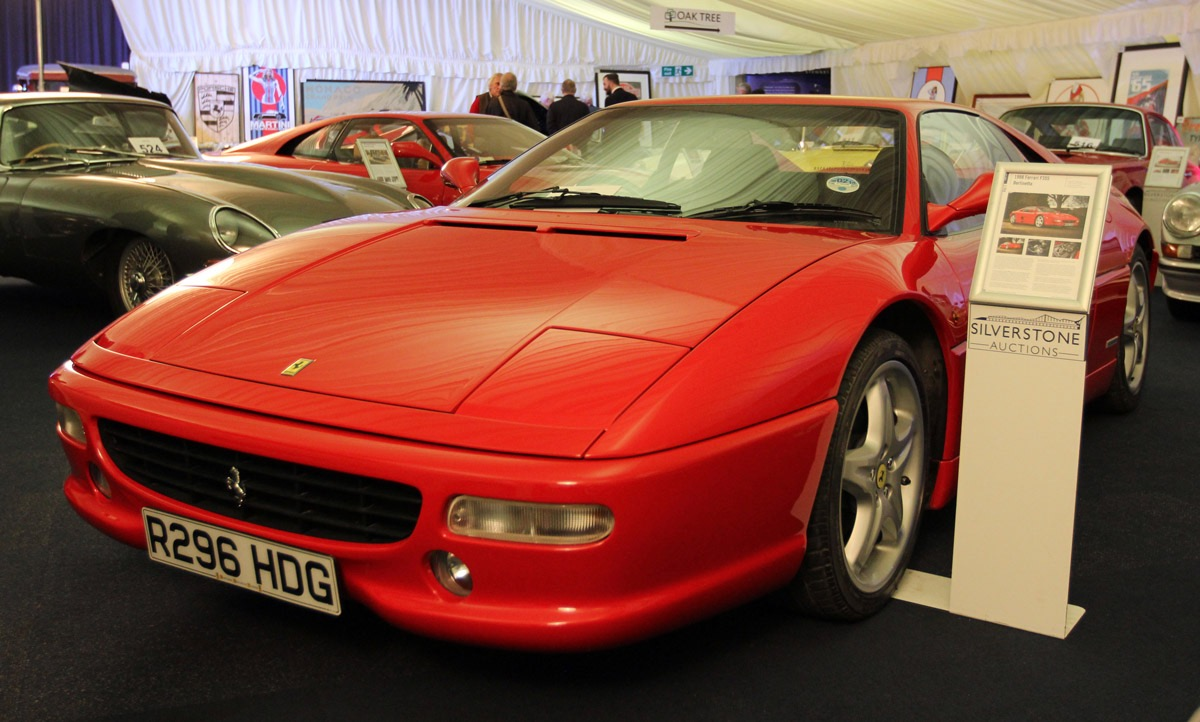 Same Ferrari owner sold this '98 F355 for nearly $170,000