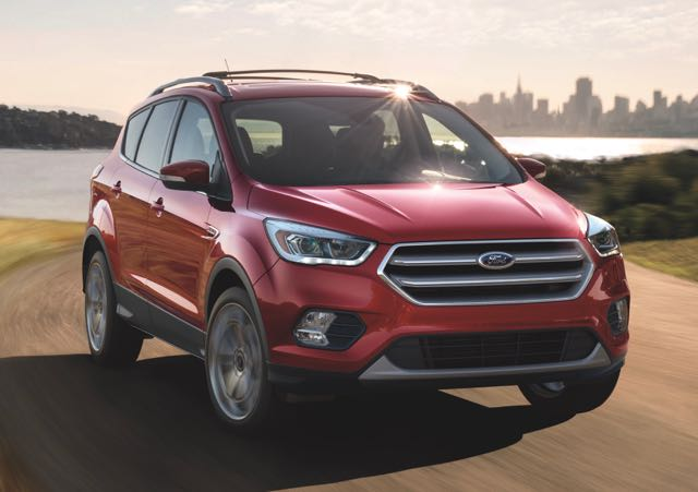 Driven 2017 Ford Escape Se