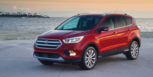 2017 Ford Escape is company's second-best seller | Ford photos