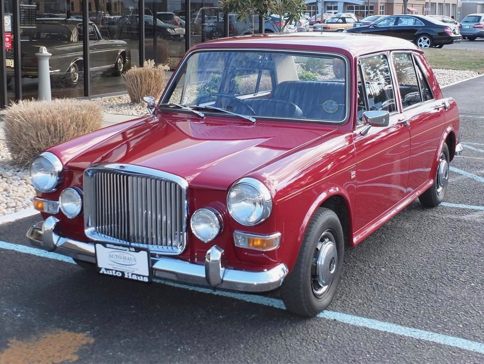 1974 Austin Vanden Plas Princess is luxurious British compact