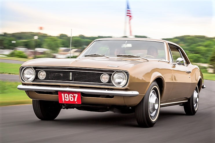 The first Camaro ever built will be part of the concours display | Historic Vehicle Association