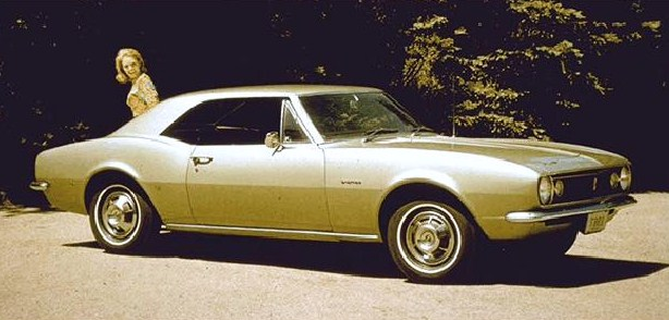 The first Camaro was used for marketing | GM archive