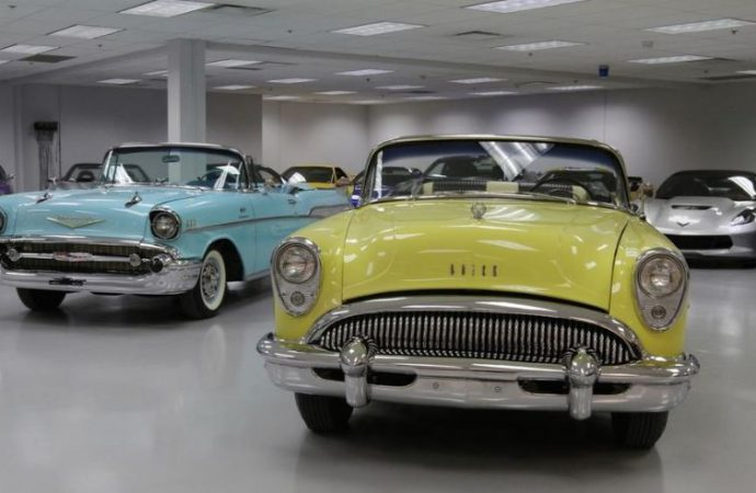 Former missile plant converted into new car museum