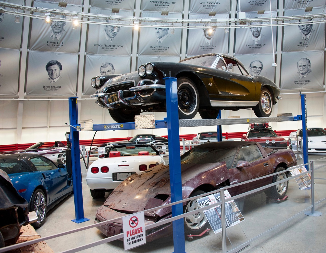 The '62 had been on display in the repaired Skyome