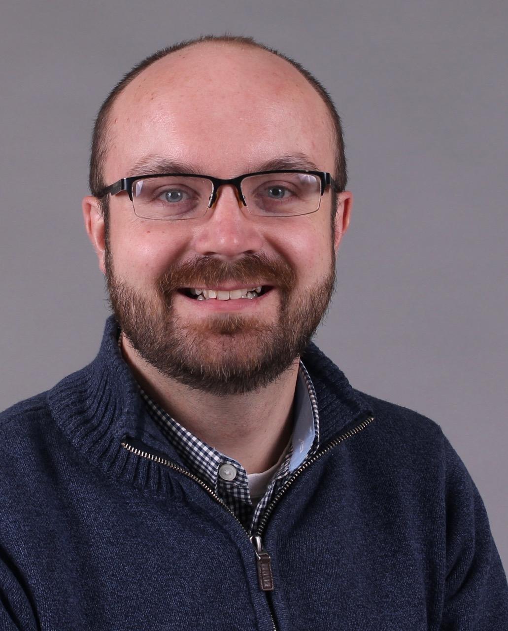 New curator Derek Moore