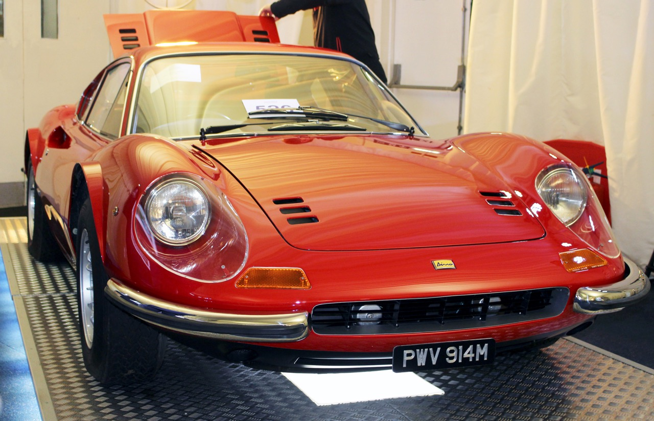 1974 Ferrari Dino 246 GT sells for nearly $550,000 | Silverstone Auctions photos