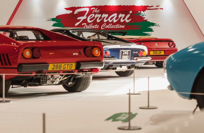 Festival of Ferraris highlights London Classic Car Show