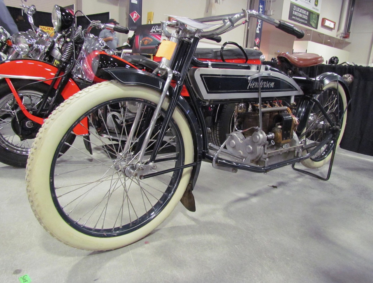 Henderson motorcycles swept the top-three sales