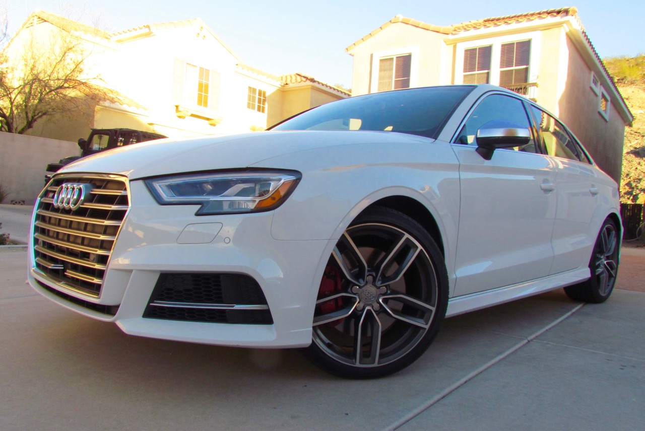 Audi S3 offers power, magnetic suspension in a compact and affordable vehicle | Larry Edsall photos