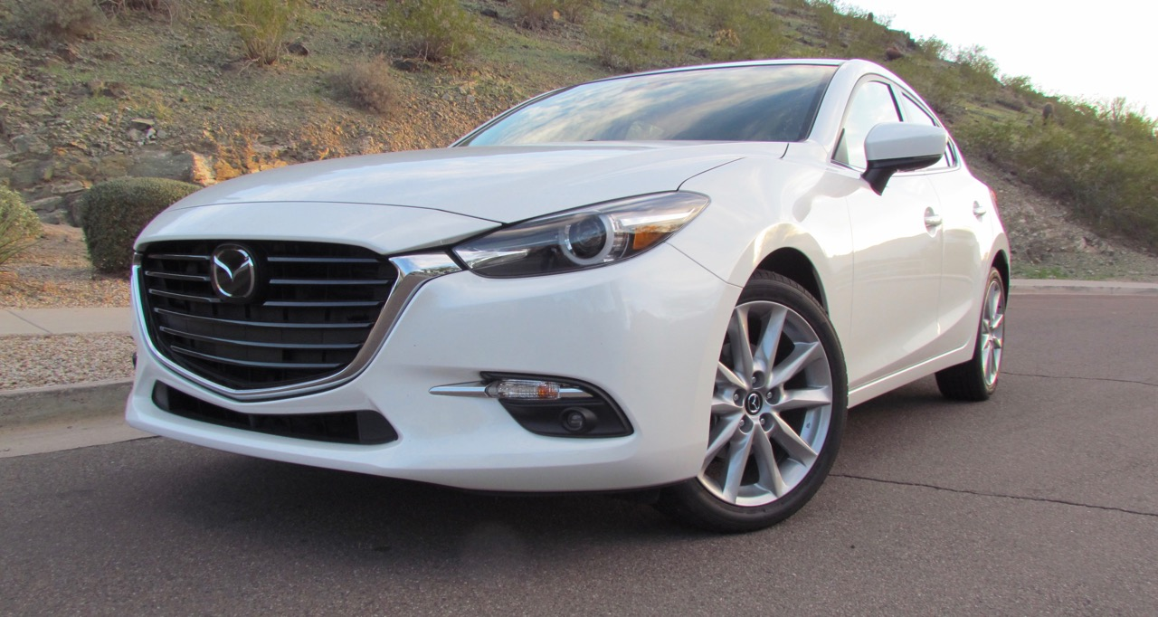 2017 Mazda3 5-door Grand Touring is updated inside and out | Larry Edsall photos