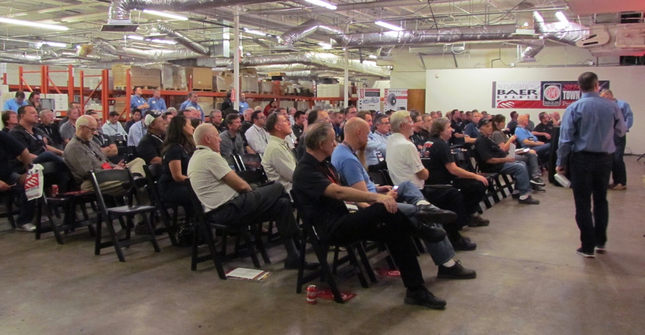 SEMA staged its first Town Hall meeting of the year in Phoenix | Larry Edsall photos