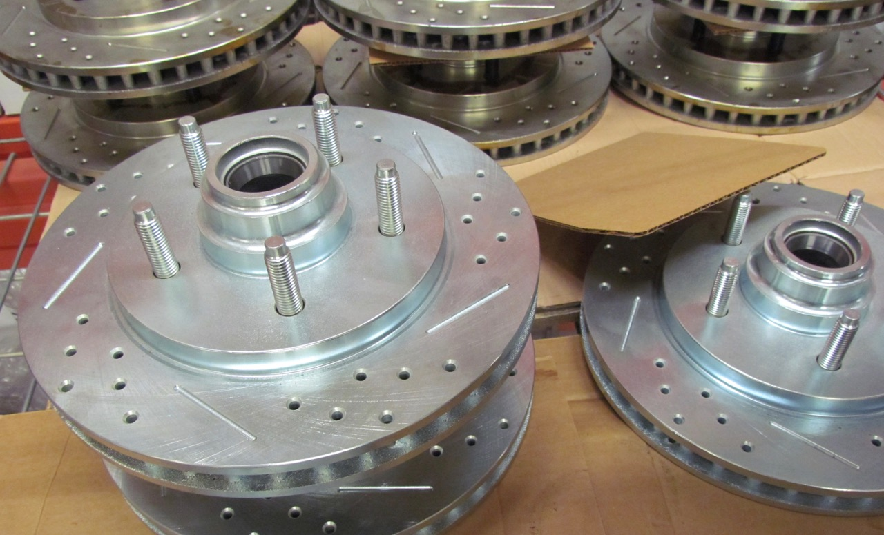 Baer produces high-performance brakes for the automotive aftermarket