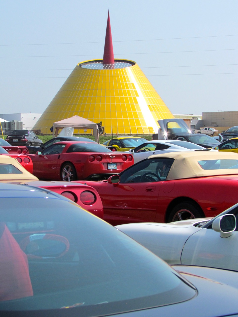 Corvettes enthusiasts gather their museum | Larry Edsall photo
