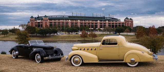 Texas Rangers baseball field is adjacent to park where concours will take place | Concours of Texas photo