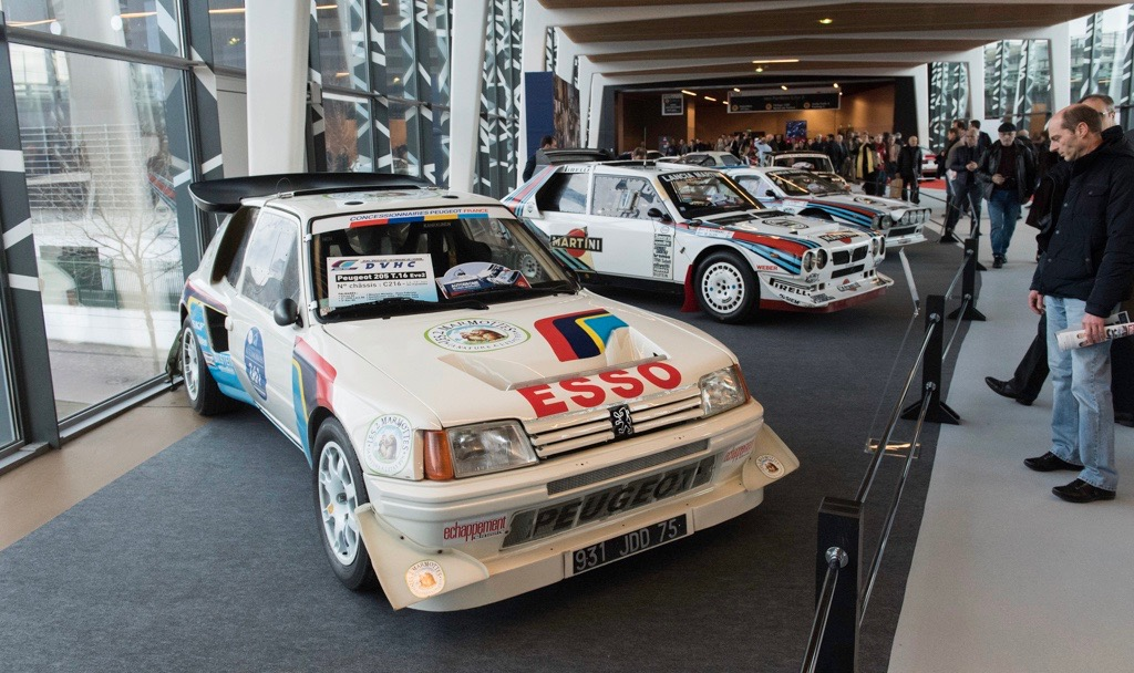 Peugeot 205 T16 EVO2 chassis 16 from 19 built
