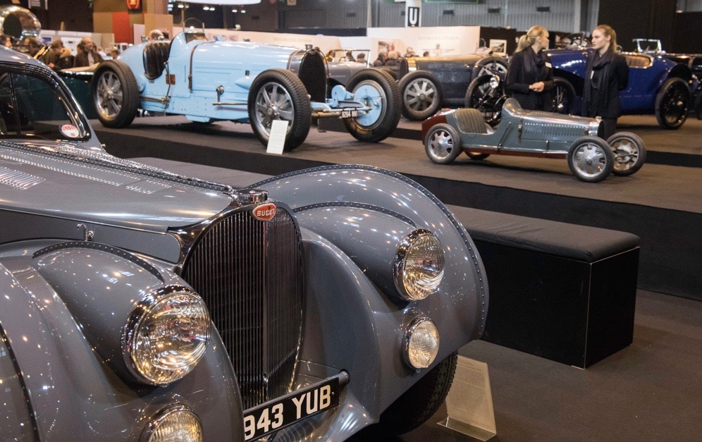 The ultimate Bugatti Atlantique with the ultimate childs car: A Bugatti Baby | Dirk De Jager photos