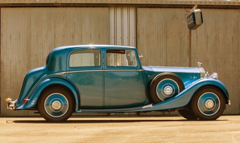 1936 Rolls-Royce was owned by famed portrait artist | Mossgreen photos