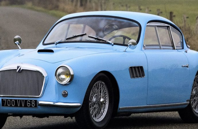 Bonhams features French classics at Retromobile auction in Paris
