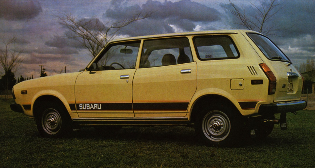 Subaru was the first with popularly price four-wheel-drive station wagon   Subaru photos