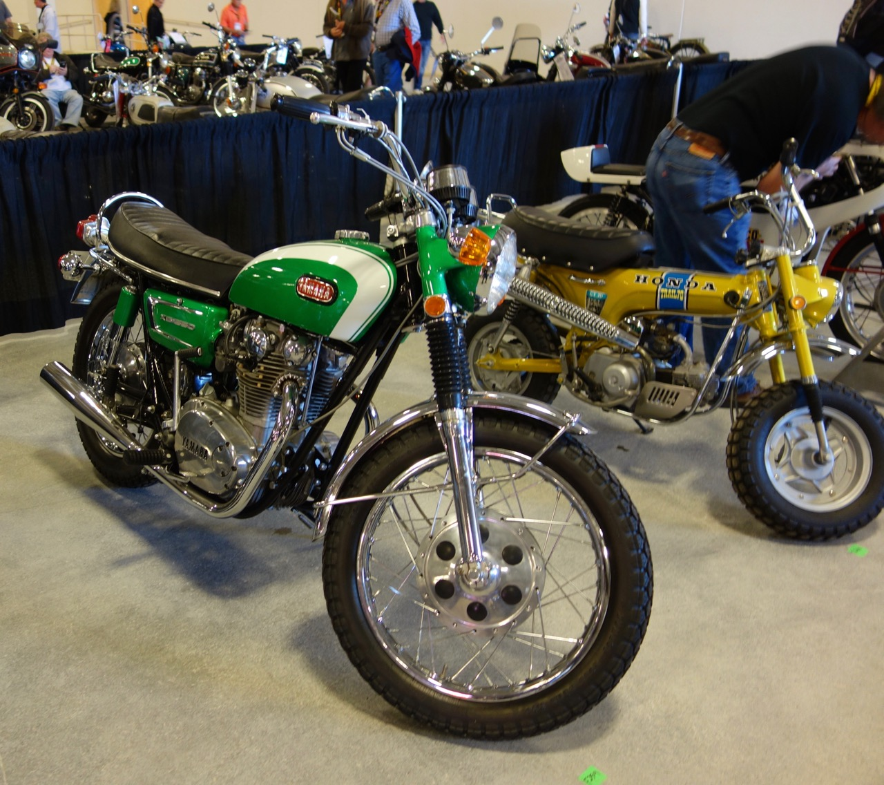 This and other Yamaha XS650's brought more money than expected