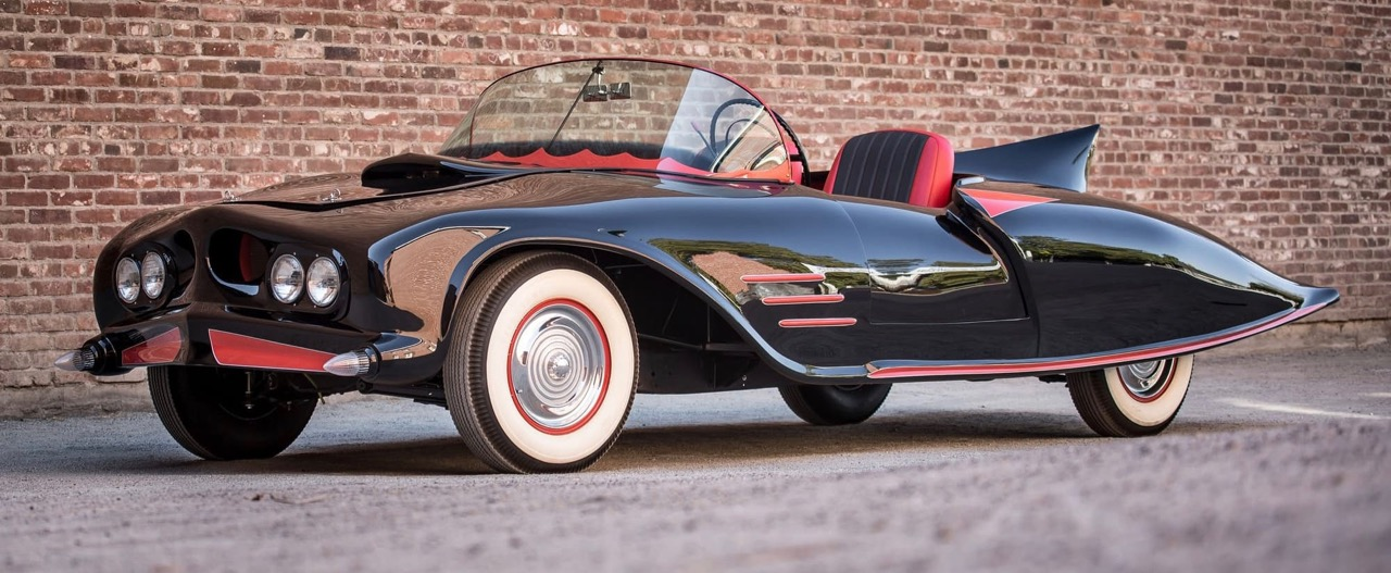 First licensed Batmobile was built on 1956 Oldsmobile chassis | Vicari photos
