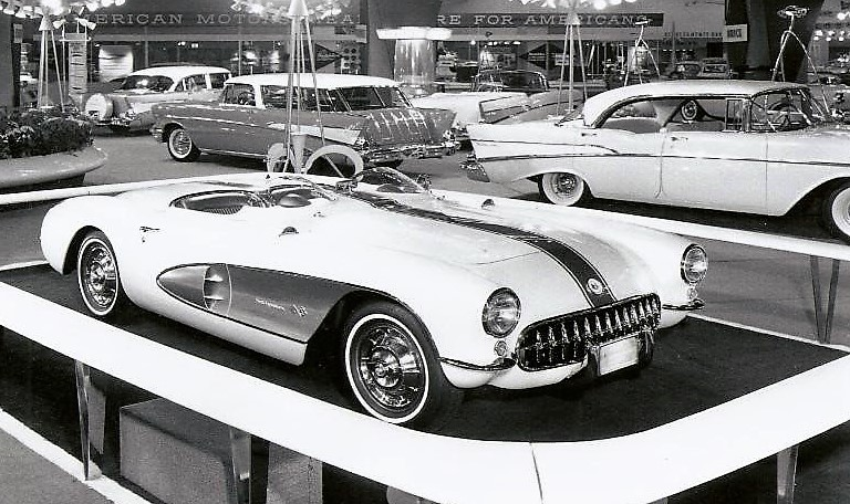 The Corvette Super Sport prototype was introduced at the New York Auto Show | Amelai Island Concours archive