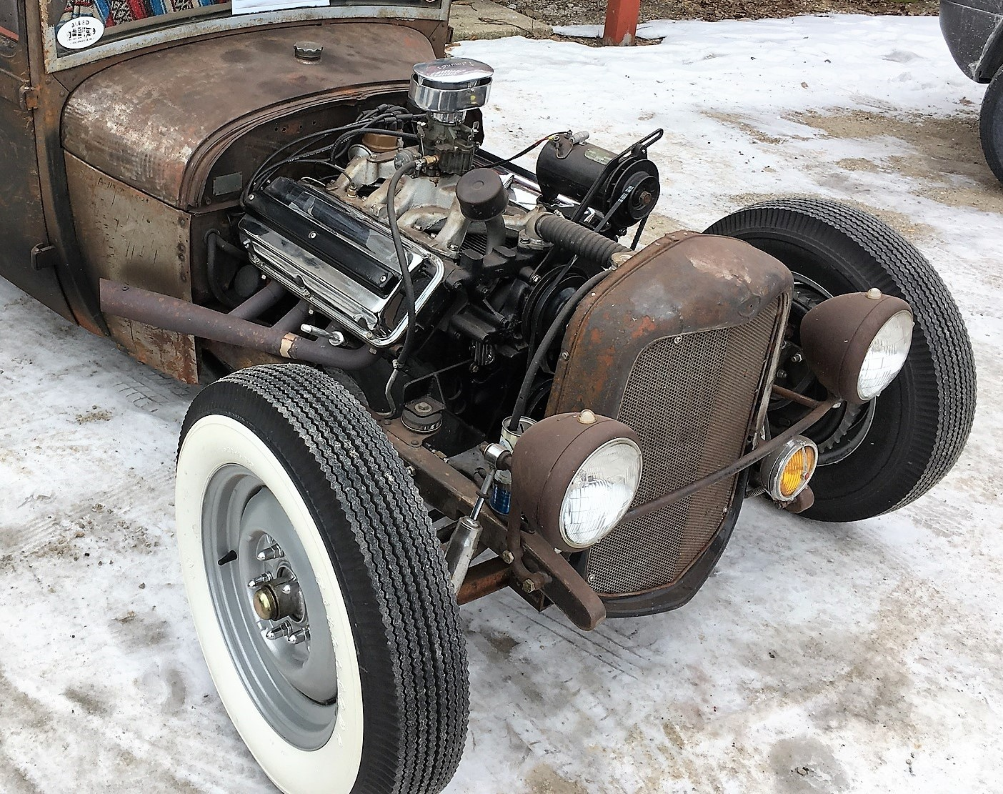Inaugural Polar-Rama puts hot rods on ice in Wisconsin ...