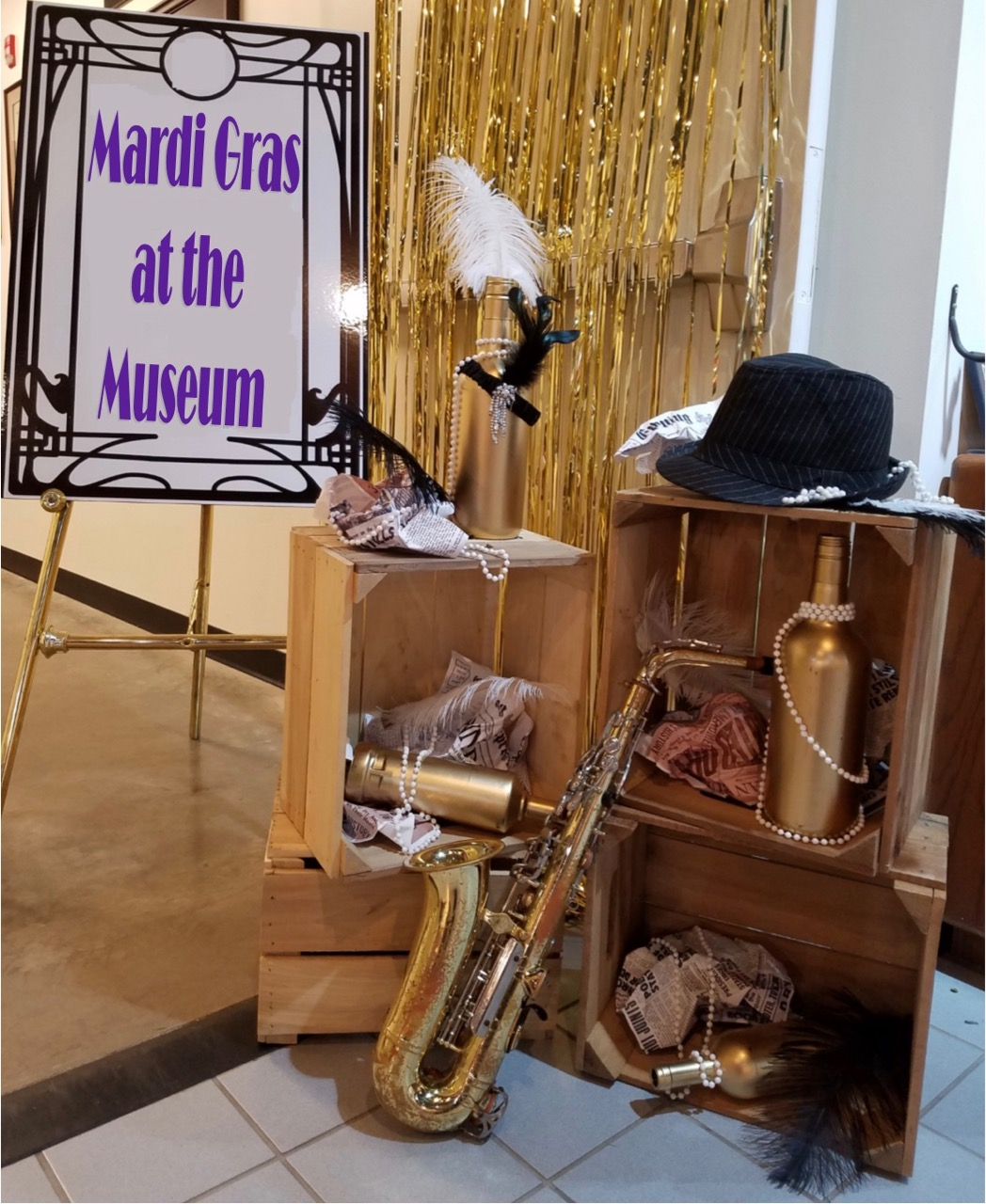 Museum gears up for Fat Tuesday
