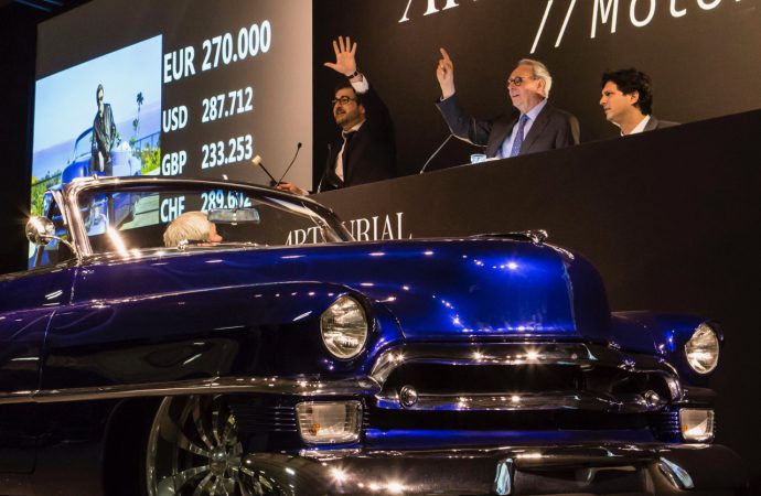 Artcurial rocks out with $34 million Retromobile auction