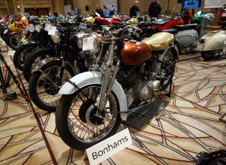 Andy analyzes the Vegas vintage motorcycles auctions