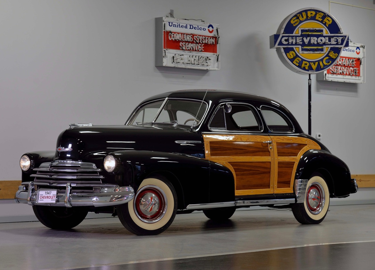 1947 Fleetmaster country Club coupe