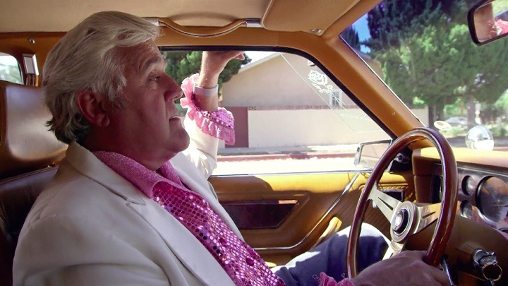 Jay Leno is part of the group unveiling the new Lemo ride-hailing company | Photos courtesy CNBC Jay Leno's Garage