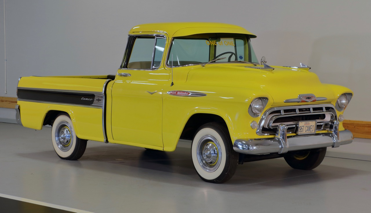 Cameo Carrier was a pickup truck with car-inspired styling