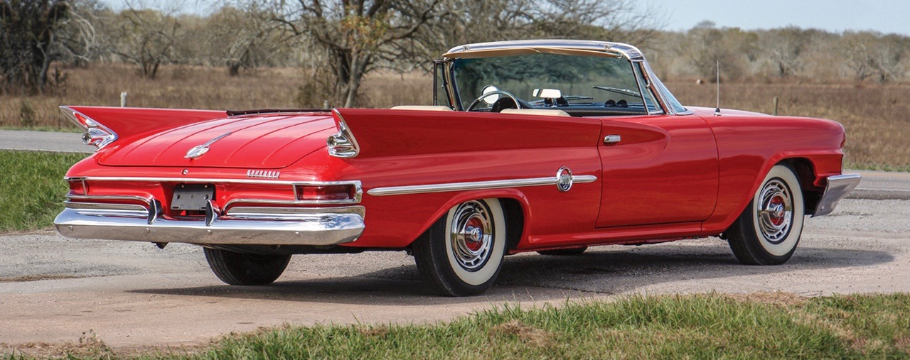 1961 Chrysler 300G convertible is part of the Monical collection