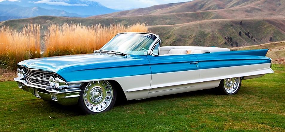 The 1962 Cadillac custom convertible is named Cadalina