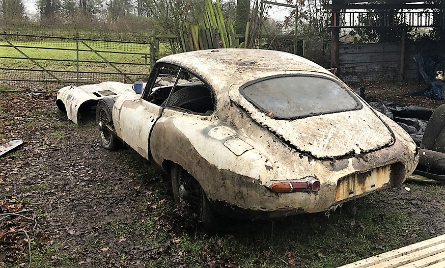 The barn-find coupe is a desirable Series 1 model